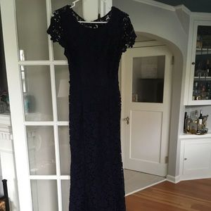 Classic navy formal gown